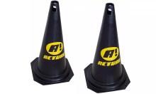 Cones Altos de 50cm para Treinamento Esportivo