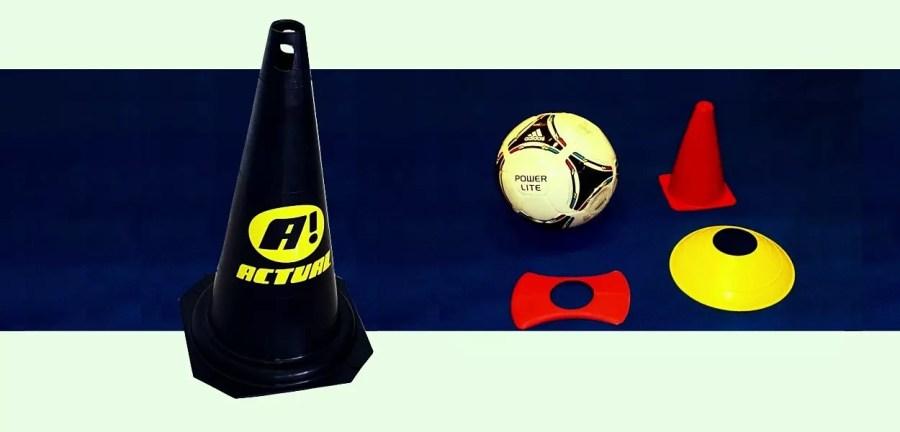 cones de treinamento esportivo e funcional