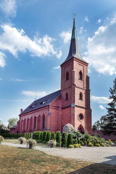 Międzybórz kościół