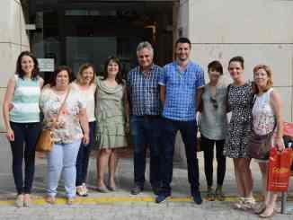 La Concejala de Sanidad, miembros de ENSE y profesionales