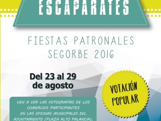Cartel del Concurso de Escaparates 2016