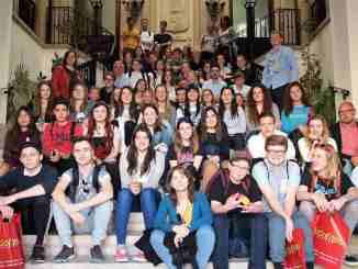 Estudiantado y profesorado visitan el Ayuntamiento de Segorbe