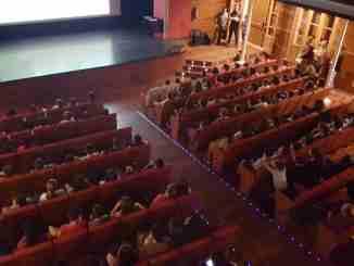 El alumnado de 5º de primaria de los tres colegios de Segorbe asiste al acto en el Teatro Serrano