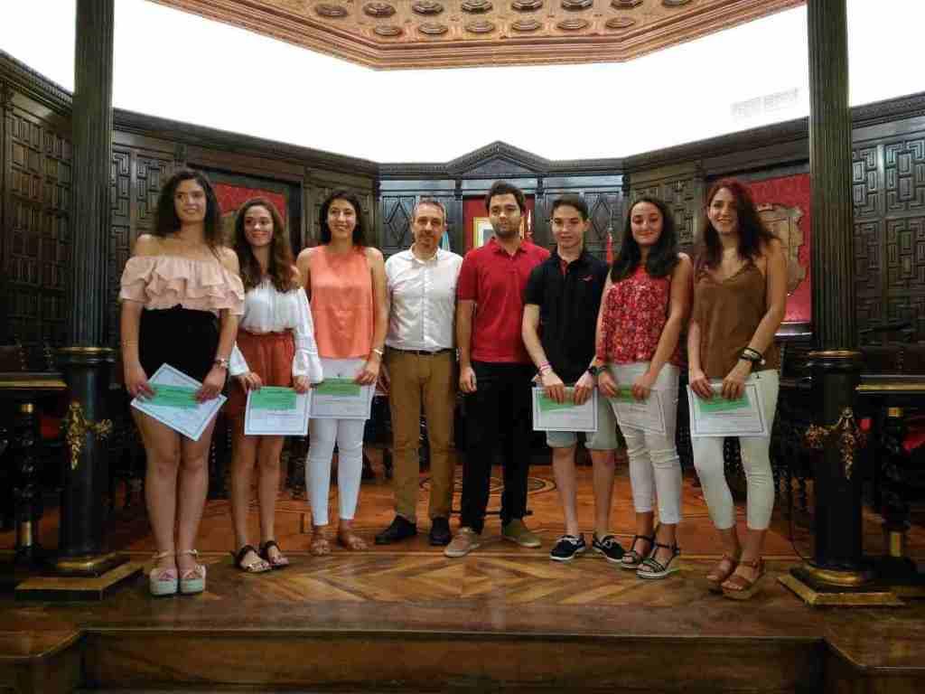 Entrega de reconocimientos en el Salón de Plenos de Segorbe
