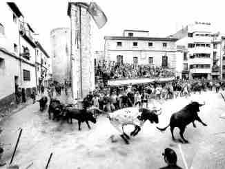 """""""La Entrada"""", de José Vicente Llop Tejadillos. Fotografía ganadora del pasado XIII Concurso Fotografía Taurina."""