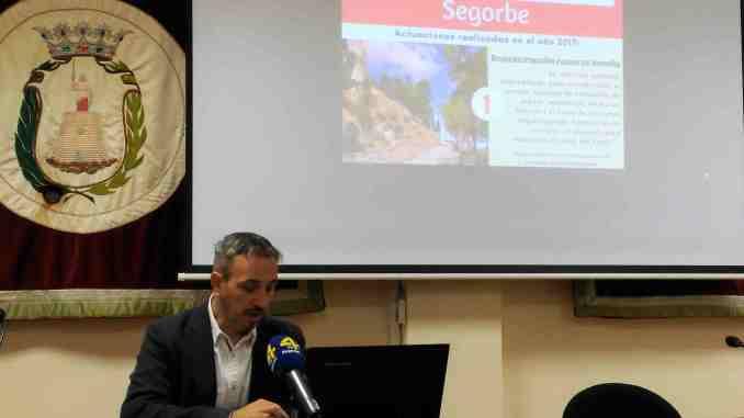 El Alcalde, Rafael Magdalena, presenta ante los medios los presupuestos participativos 2018