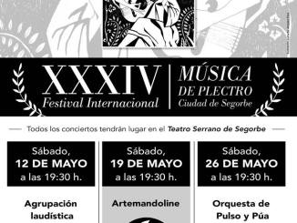 XXXIV Festival Internacional Música de Plectro ciudad de segorbe 2018