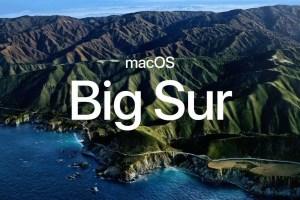 pantalla de un mac con MacOS big sur novedades MacOS WWDC 2020