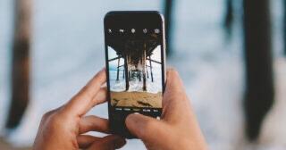 Imágenes de la cámara de un iPhone control parental en dispositivos Apple