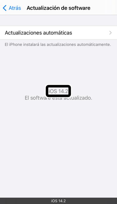 iOS 14.2 Golden Master ya disponible