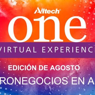 ONE Virtual Experience Edición Agosto: Agronegocios en Asia