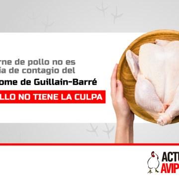La carne de pollo no es una vía de contagio del Síndrome de Guillain-Barré