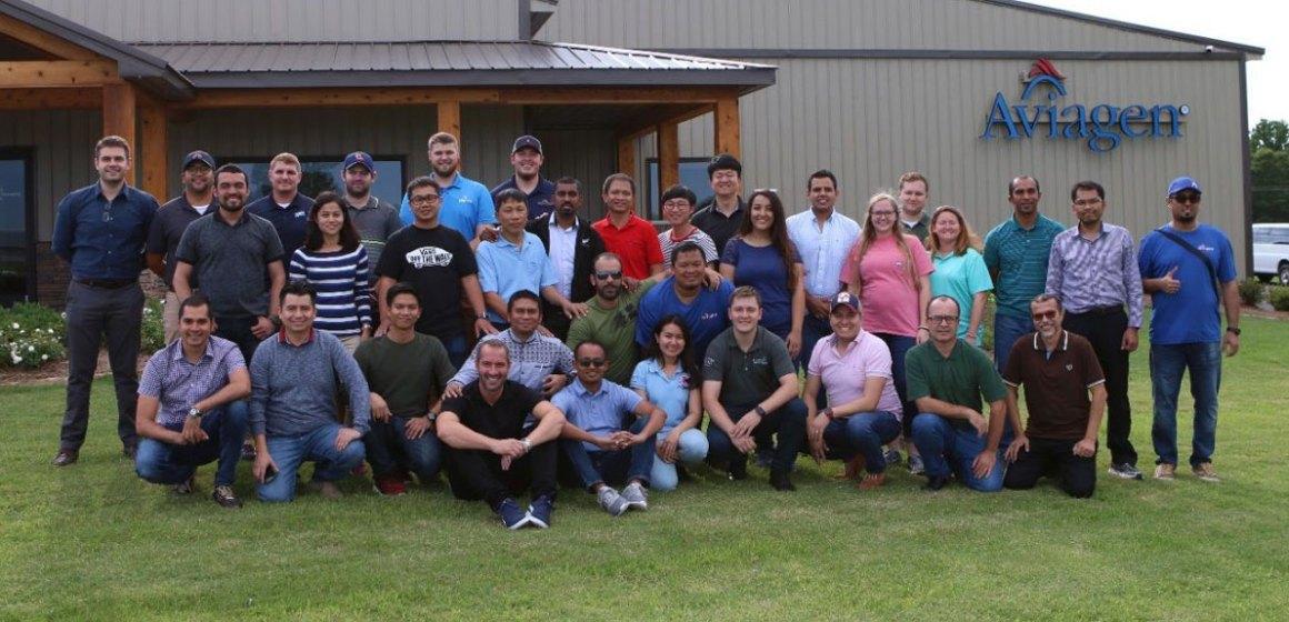 Aviagen fue anfitrión de la 56° Escuela de Manejo de Producción en Alabama