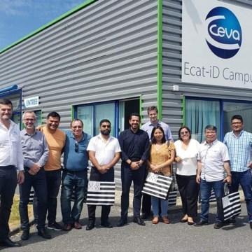 Ceva Francia recibe a destacada delegación peruana en sus instalaciones
