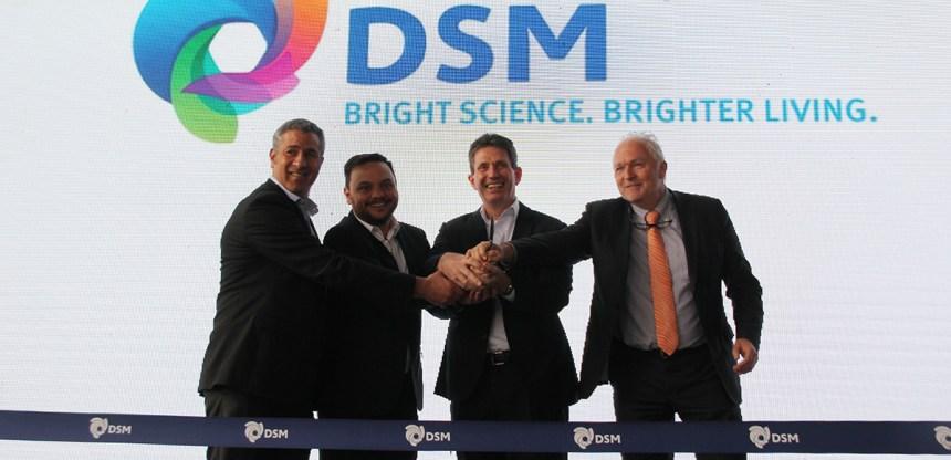 Inauguración de la fábrica de premezclas de DSM en el Perú
