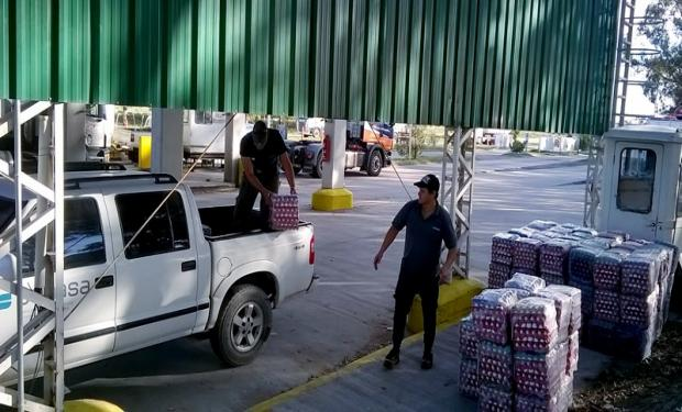 Retienen huevos irregulares en Argentina