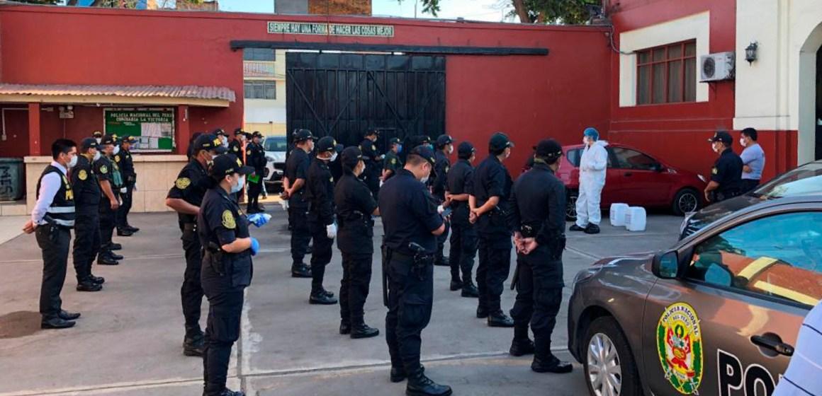 CKM realizó la donación de desinfectantes a la Policía Nacional del Perú
