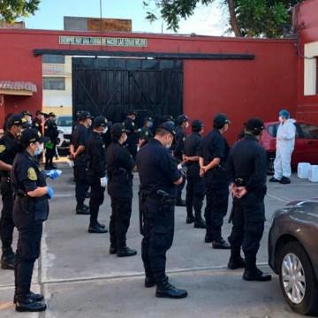 CKM realiza la donación de desinfectantes a la Policía Nacional del Perú