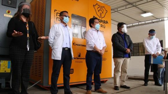Empresas del sector avícola donaron planta de oxígeno medicinal al Hospital de Chancay