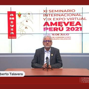 Se dio inicio al XI Seminario Internacional y IX Expo Virtual Amevea Perú 2021