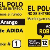 El domingo 19 de Abril apoyemos a Omar Arango Jiménez # 1 de la lista 6. Mantengamos el Rumbo – Omar Arango.