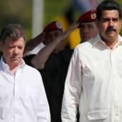 Santos y Maduro discutirán posibles soluciones a crisis fronteriza