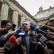 Uribe reconoció derrota tras avance de reforma constitucional para la paz