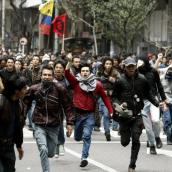 nte protestas, Gobierno dice que sí ha cumplido.