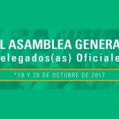 XL ASAMBLEA ESTATUTARIA DE DELEGADOS DE ADIDA-19 Y 20 DE OCTUBRE DE 2017