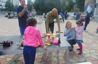 Târg de jucării cu şi pentru copiii giurgiuveni