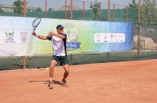 """Vasile Antonescu și Mircea Jecan, campioni la dublu la """"Chitila Open Tennis""""  Laurynas Grigelis (Lituania) a câștigat turneul de simplu"""