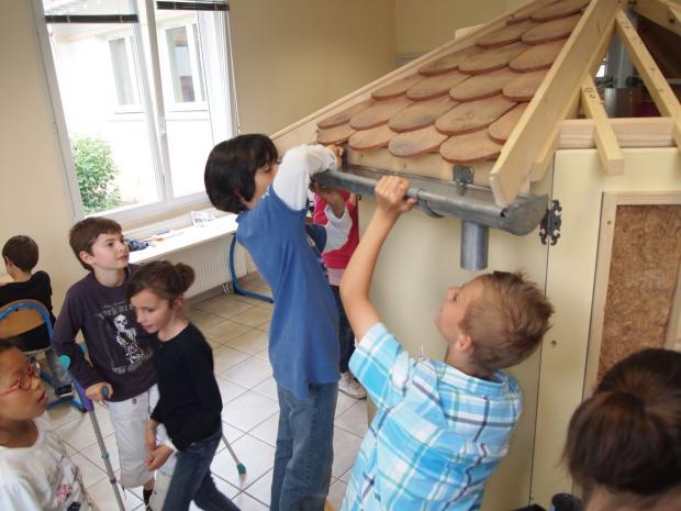 Opération « découverte des métiers du bâtiment » avec les artisans messagers de la CAPEB
