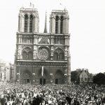 Messe annuelle pour célébrer la Libération de Paris