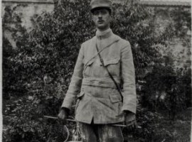Le capitaine de Gaulle à Douaumont