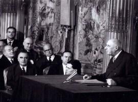 Les conférences de presse du général de Gaulle