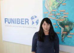 Visite de la Déleguée de FUNIBER - Chine au siège de la Fondation en Espagne