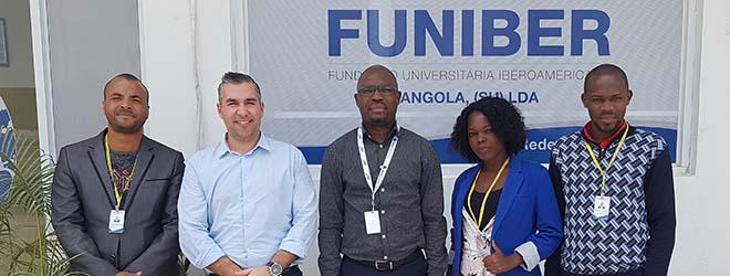 Le siège de FUNIBER en Angola déménage