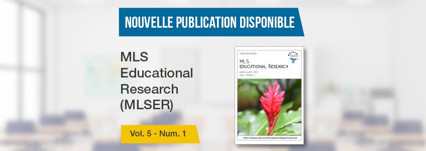 La revue MLS Educational Research, parrainée par FUNIBER, publie un nouveau numéro