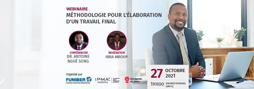 Webinaire en français : « Méthodologie pour l'élaboration d'un mémoire »