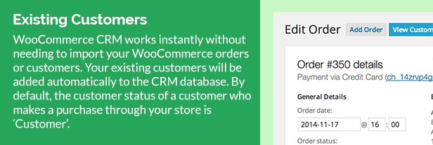 WooCommerce Customer Relationship Manager 4