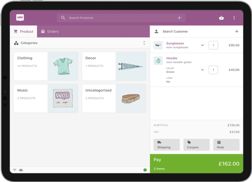 Point of Sale for WooCommerce Register View