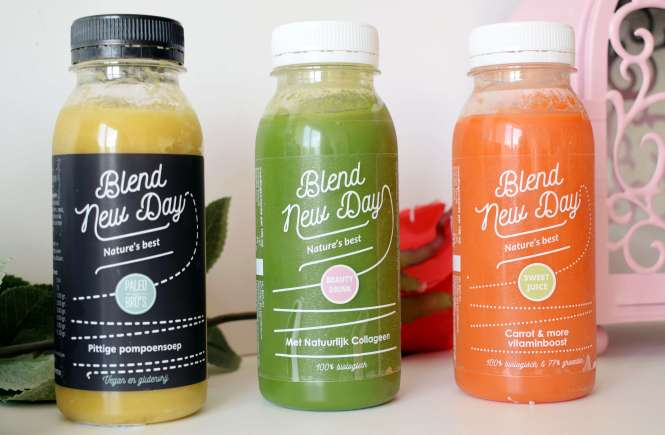 Detox, Blend New Day, Juices, Soups