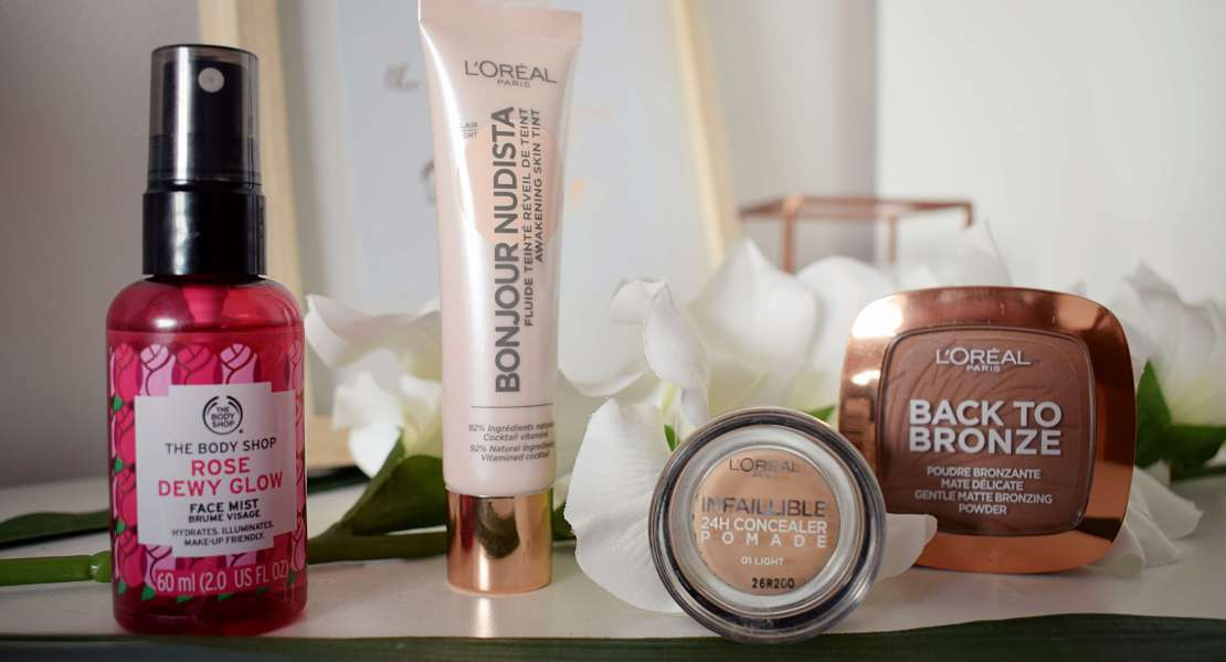 New in, beauty products, L'oreal, The Body Shop