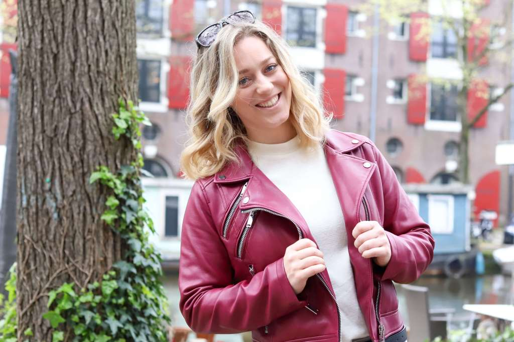 OOTD: How to style a leather jacket