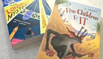 Children's book review: Gorgeous George and the Giant