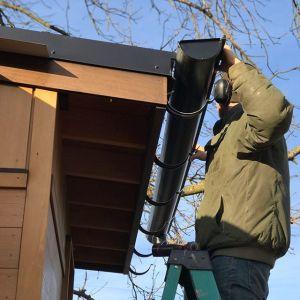 Sourcing half-round gutters
