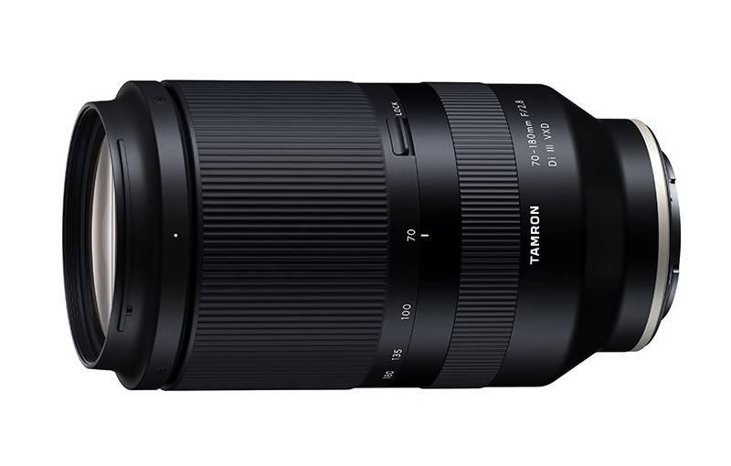 L'objectif Tamron 70-180 mm f/2,8 FE en image (fuite)