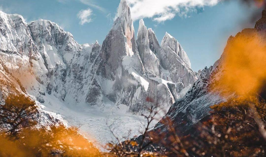 """: @patagoniatothenorthpole """"La Patagonie est devenue mon terrain de jeu préféré"""""""