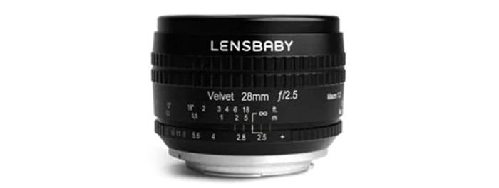 Le nouvel objectif Lensbaby 28 mm f/2.5 à monture E sera annoncé prochainement