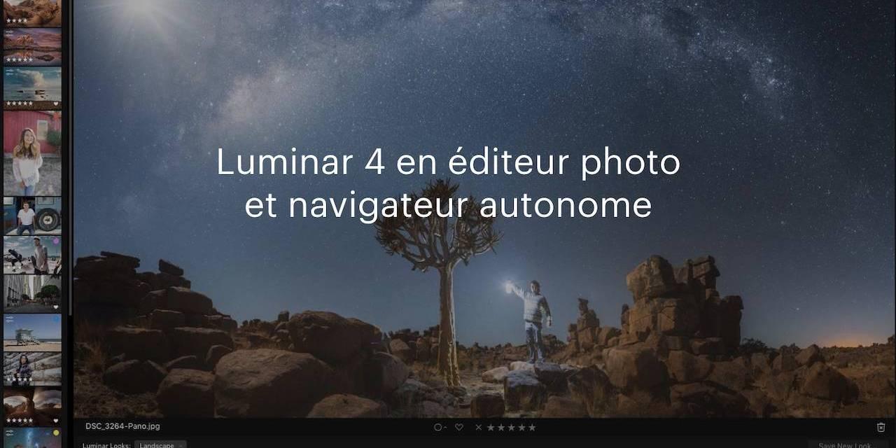 De nouveaux outils font de Luminar 4.2 une puissance créative